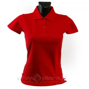 Koszulka polo LADIES cotton + nadruk