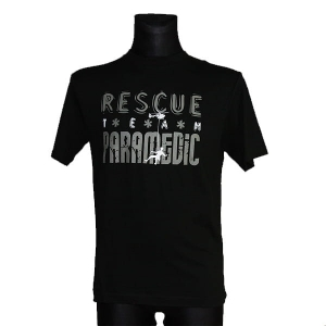 Koszulka Rescue Team black