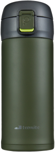 Kubek BLUFF 350ML GREEN/GREY